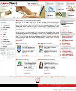 Sourcefuse Website 2006
